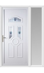 Viewpark Renaissance uPVC Door with One Sidelight