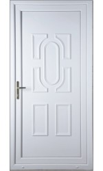 Colchester Solid uPVC Door
