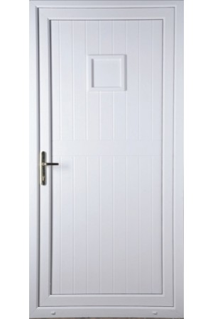 Telford Back Door Solid uPVC Door