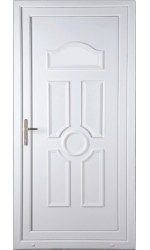 Viewpark Solid uPVC Door
