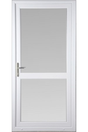Fully Glazed uPVC Door with Midrail