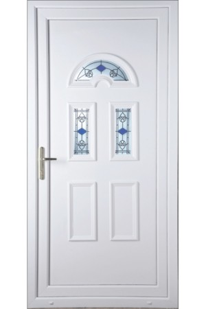 Blackburn  Blue Tulip uPVC Door