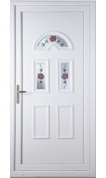 Blackburn  Climbing Rose uPVC Door