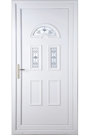 Blackburn Crystal Tulip uPVC Door