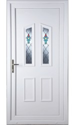 Darlington Bell Flower uPVC Door