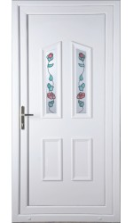 Darlington Climbing Rose uPVC Door
