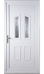 Darlington New Silver uPVC Door