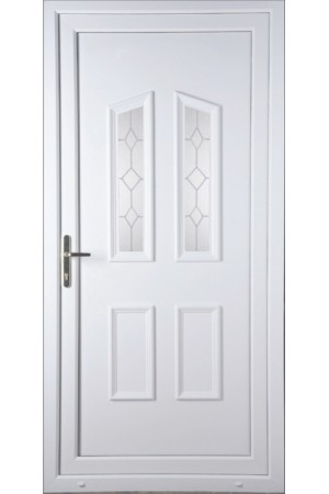Darlington Queen Anne uPVC Door