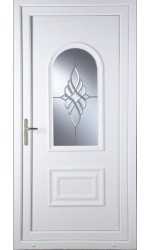 Ellesmere Port Bevel Cluster uPVC Door