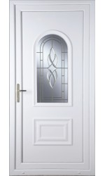 Ellesmere Port Cullingworth Bevel Border uPVC Door