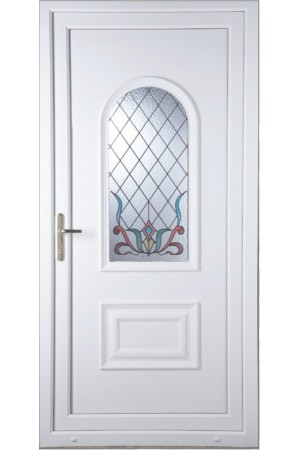 Ellesmere Port Scroll uPVC Door