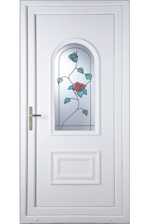 Ellesmere Port Wild Rose uPVC Door