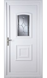 Folkestone Bevel Border uPVC Door