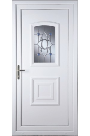 Folkestone Blue Orbit uPVC Door