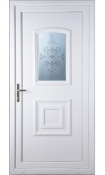 Folkestone China Blast uPVC Door