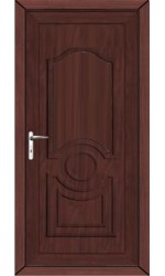 Jacobstow Solid uPVC Door in Rosewood
