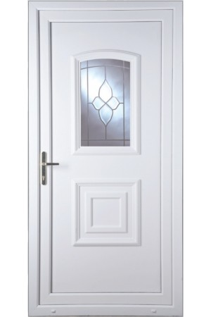 Folkestone Crystal Gem uPVC Door