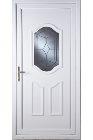 Gravesend Centre Bevel uPVC Door