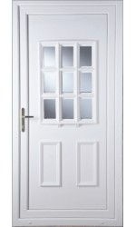 Harrogate Clear Glazed uPVC Door
