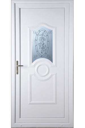 Jacobstow Tea Rose uPVC Door