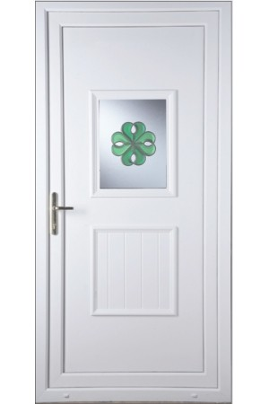 Loughborough Irish Bevel uPVC Door