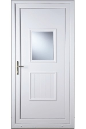 Loughborough Large Glazed uPVC Door