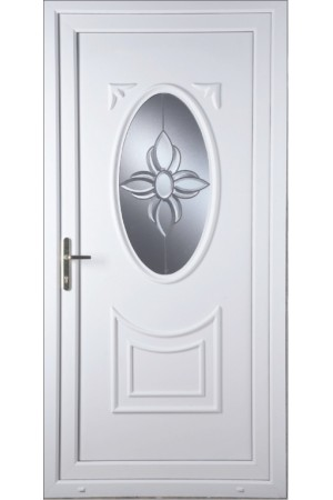 Maidenhead Star Bevel uPVC Door