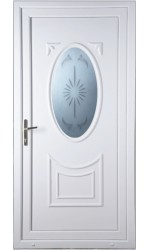 Maidenhead Star Blast uPVC Door