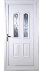Newport Bingley Bevel uPVC Door