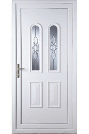 Newport Ice Cluster uPVC Door