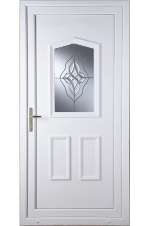 Oakham Wave Cluster uPVC Door