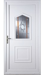 Poole Heaton Bevel Border uPVC Door