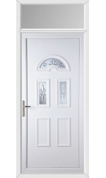 Blackburn New Quasar uPVC Door with Toplight