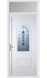 Ellesmere Port Radiance uPVC Door with Toplight