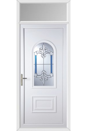 Ellesmere Port Royal Master uPVC Door with Toplight