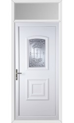 Folkestone New Tara uPVC Door with Toplight