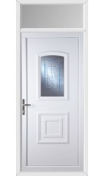 Folkestone New Topaz uPVC Door with Toplight