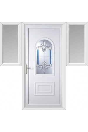 Ellesmere Port Royal Master uPVC Door with Two Flags