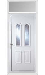Newport New Faylin uPVC Door with Toplight