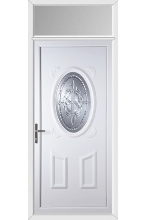 Swansea New Celtic uPVC Door with Toplight