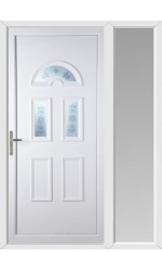 Blackburn Blast uPVC Door with One Sidelight