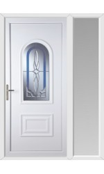 Ellesmere Port New Royal uPVC Door with One Sidelight