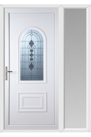 Ellesmere Port Radiance uPVC Door with One Sidelight