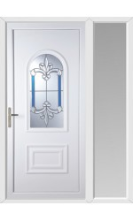 Ellesmere Port Royal Master uPVC Door with One Sidelight