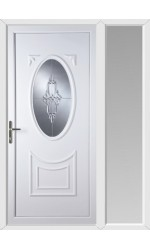 Maidenhead Sapphire uPVC Door with One Sidelight