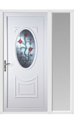 Maidenhead Tulip uPVC Door with One Sidelight