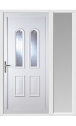 Newport New Faylin uPVC Door with One Sidelight