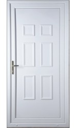 Ashford Solid uPVC Door