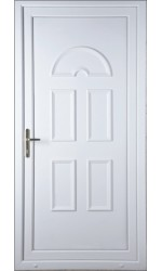 Blackburn Solid uPVC Door