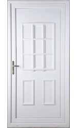 Harrogate Solid uPVC Door
